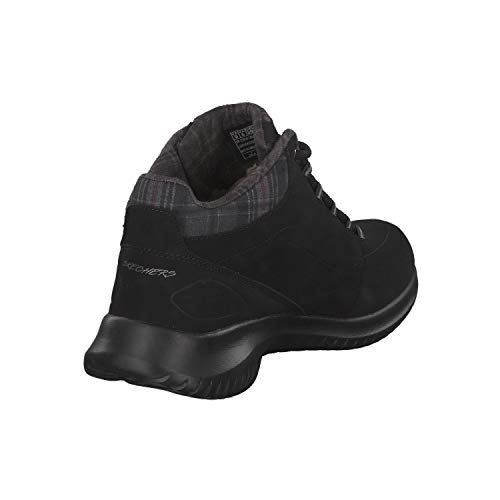 Stiefeletten Skechers Flex Just Schwarz Ultra Damen Chill 5qw4qaZ1f