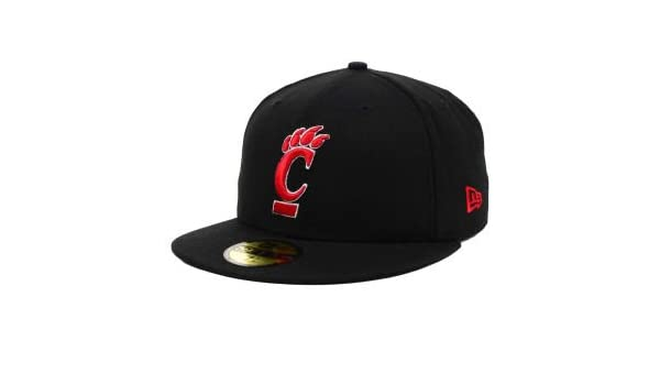 67541c0cd85 Amazon.com   New Era Cincinnati Bearcats 59FIFTY Cap   Sports Fan Baseball  Caps   Sports   Outdoors