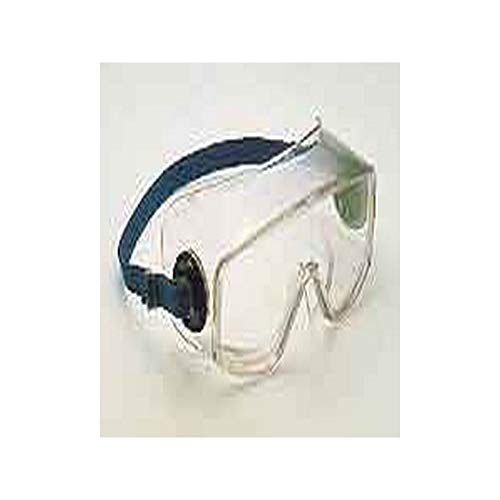 (Encon Safety 05058202 Goggle w/Felt Pad Around Frame, Clear, Standard)