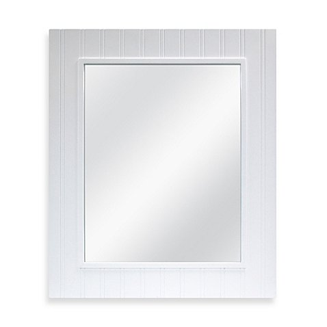 Mirror features A Classic Bead Board Design 22