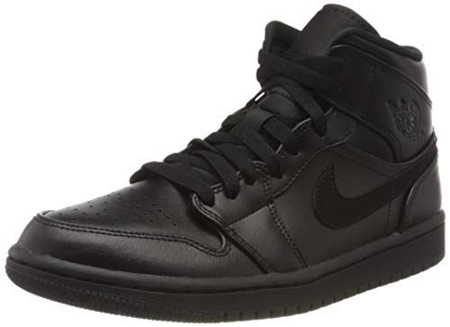 Nike Herren Air Jordan 1 Mid Basketballschuh, Grigio Obsidian Game Royal Summit WHI, 40 EU