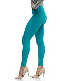 Lush Moda Extra Soft Leggings - Variety of Colors - Teal