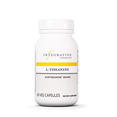 Integrative Therapeutics - L-Theanine (Suntheanine Brand) - Promotes Relaxation & Reduces Stress - 60 Capsules by Integrative Therapeutics