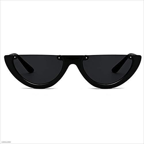 de Style Boundless Soleil PC Punk Aszhdfihas Mme Lunettes Soleil Sun Lens Couleur Noir Hommes UV Lunettes de Protection Half Unisex Vintage Marron w0IqEAqY