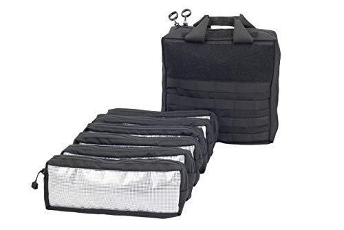 Black Mechanics Tool Bag - Mechanic Tool Bag - Made in USA (Black)