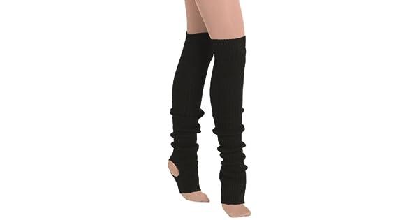 Amazon.com: Eurotard 2625 Polainas para mujer., negro, talla ...