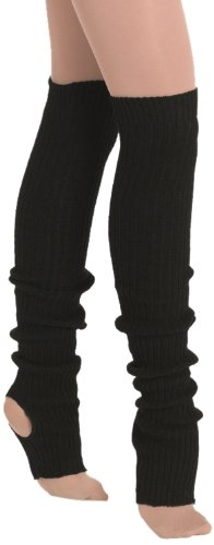 "Eurotard 2625 36"" Stirrup Legwarmer (Black, OSmallFA) from Eurotard"