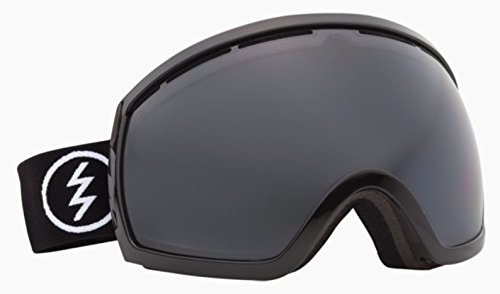 - Electric Eg2 Gloss Black Silver Oversized Ski Snowboard Goggles