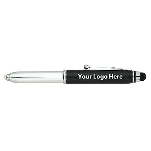 Fine Writing Instruments Engraved Pen / Stylus / LED Light - 200 Quantity - $2.25 Each - PROMOTIONAL PRODUCT / BULK / BRANDED with YOUR LOGO / CUSTOMIZED by Sunrise Identity