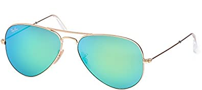 3344f2753c0 Image Unavailable. Image not available for. Color  Ray Ban Aviator  Sunglasses RB3025 112-19 Matte Gold Frame