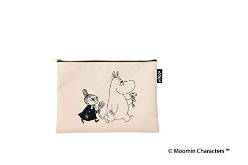 MOOMIN 2WAY BIG BAG BOOK BLACK 画像 C