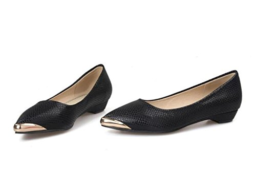 xie Pointu Orteil Chaussures Peu Profonde Bouche de la Chaussure a frapp