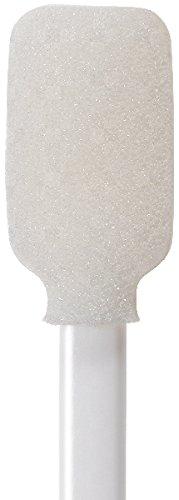 71-4565: 5.125'' Large Rectangular Head Foam Cleaning Swab by Swab-its Case of 2,000 Foam Swabs