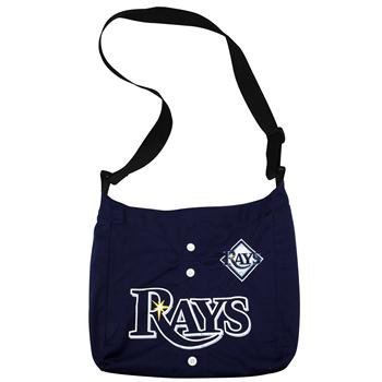 - Little Earth 76040-RAYS MLB Tampa Bay Rays MVP Jersey Tote