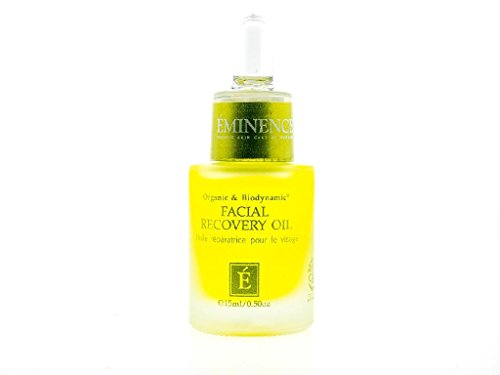Eminence Organic Skincare Facial Recovery Oil, 0.5 Ounce