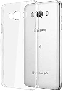 Silicone Back Case Cover By Ineix For Samsung Galaxy J7 2016 - CLEAR