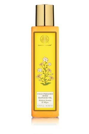 Forest-Essentials-Cold-Pressed-Body-Massage-Oil-Jasmine-Mogra-200ml