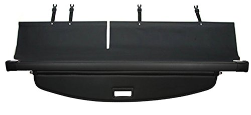 caartonn Cargo cover for 2014 2015 2016 2017 2018 Jeep Cherokee Trunk Retractable Cargo Luggage Security Shade Cover Shield Black(not fit for jeep grand ()