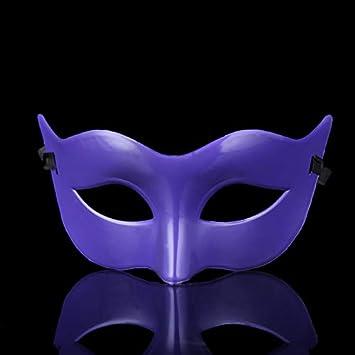 CAOLATOR.Mascarilla de Mujer Color S/ólido Halloween Disfraces Juguetes Antifaz para Veneciano Mascarada Carnaval Fiesta de Baile Accesorios Disfraces Juguetes para Pareja