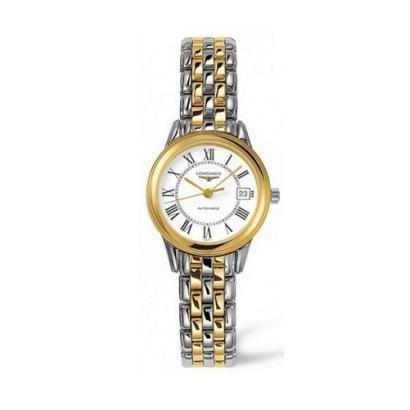 Longines Les Grandes Classiques Flagship L4.274.3.21.7 Automatic Transparent Case Back Women's Watch