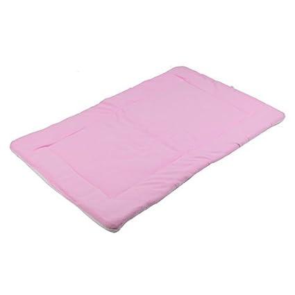 Rosa DealMux Velo animais Cat Dog Blanket Indoor cama dormindo para se sentar Mat Pad Almofada