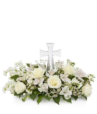 (Cross Charisma - Same Day Sympathy Flowers Delivery - Sympathy Flower - Sympathy Gifts - Send Online Sympathy Plants & Flowers )