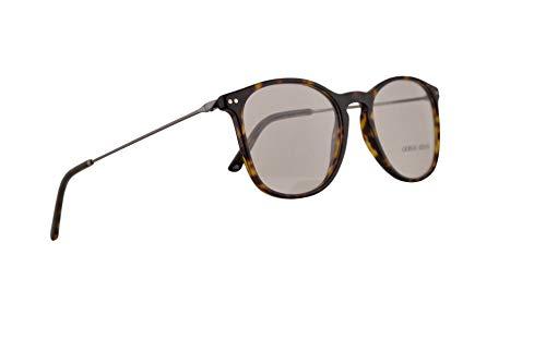 Giorgio Armani AR7160 Eyeglasses 53-19-145 Dark Havana w/Demo Clear Lens 5026 AR ()
