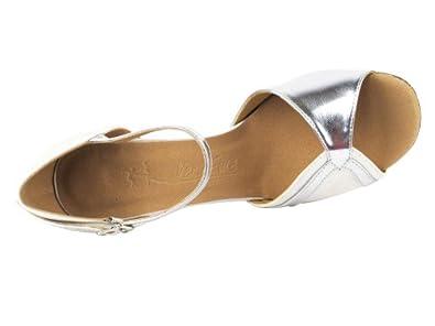 Ladies Women Ballroom Dance Shoes Very Fine EKSA3710 SERA 3 Heel with Heel Protectors