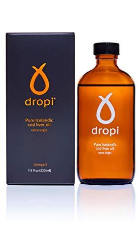 Dropi Pure Icelandic Cod Liver Oil - Extra Virgin 220 ML