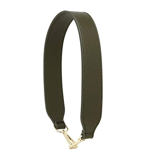 Purse Straps Replacement PU Leather Handbags Strap Shoulder Bag Straps Phone Pendant (Dark Green)
