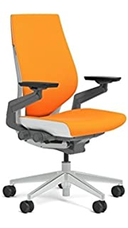 Captivating Steelcase Gesture Chair, Tangerine