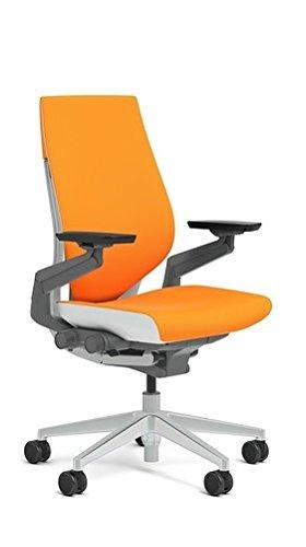 Steelcase Gesture Chair, Tangerine
