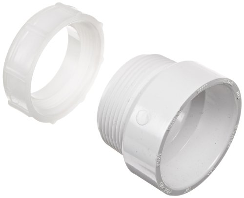 Spears P104P Series PVC DWV Pipe Fitting, Trap Adapter with