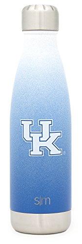 Simple Modern University of Kentucky 17oz Wave Water Bottle - Vacuum Insulated UK Wildcats 18/8 Stainless Steel Powder Coated Travel Mug -