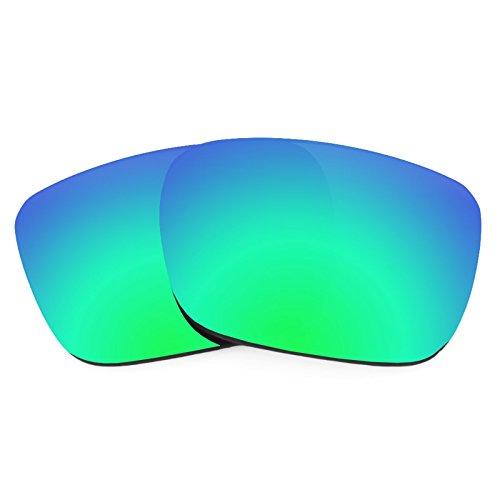 Revant Replacement Lenses for Spy Optic Helm, Polarized, Emerald Green MirrorShield (Helm Lenses Spy)