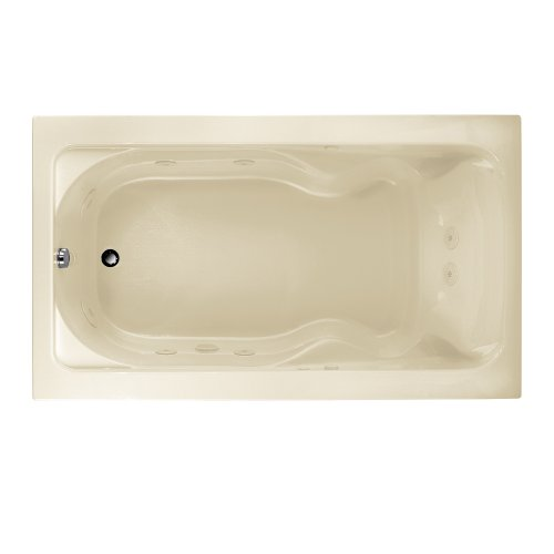 American Standard 2774018W.222 Cadet 6-Feet by 42-Inch Whirlpool with Hydro Massage System-I, Linen