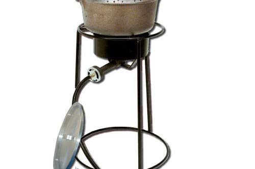 King Kooker 22PKPTC 20-Inch Propane Outdoor Cooker with 6-Quart Cast Iron Pot by King Kooker