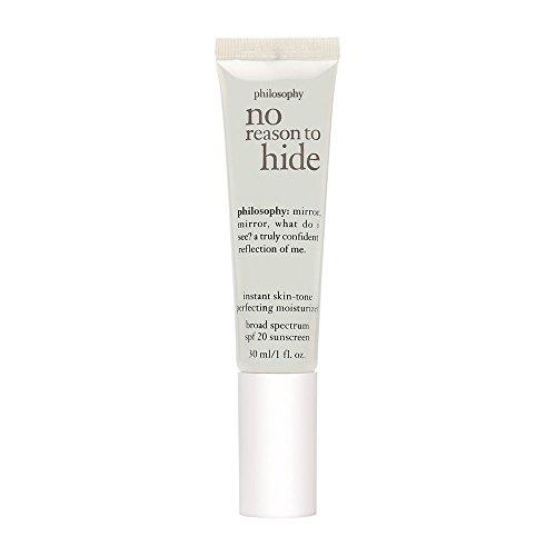 Philosophy No Reason To Hide Instant Skin-Tone Perfecting Moisturizer SPF 20 Light (Best Makeup To Hide Acne)