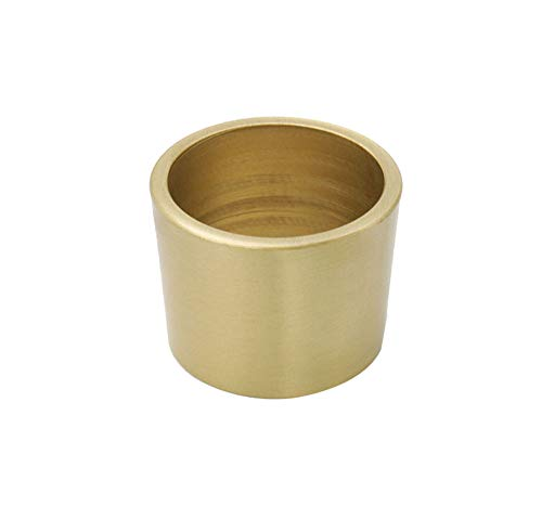 Dinette Foot Cover, Brass TV Cabinet, Entrance Cabinet Furniture, Copper Foot Cover (1 Piece)