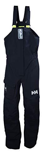 Helly Hansen Womens Pier 2 Waterproof Performance Rain Pants, Navy, X-Large