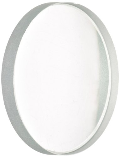 American Educational Unmounted Double Concave Lenses with Ground Edges, 50mm Diameter, 20cm Focal Length (Bundle of 5)