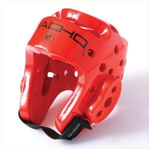 Macho Dyna Sparring Gear Karate TaeKwonDo TKD - Red 5pc Set (Head (Medium) - Punch and Kick (ChS))