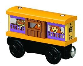 Thomas Zoo (Zoo Box Car - Thomas & Friends Wooden Railway Tank Train Engine - Brand New Loose)