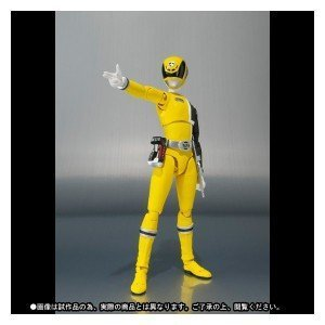 S.H. Figuarts Sentai Power Ranger SPD Dekaranger Deka Yellow Tamashii -