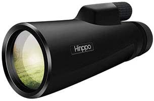 Hinppo 12×50 FMC Monocular Telescope for Adults, Bright and Clear View with BAK4 Prism Monocular for Bird Watching Hunting Camping Travelling, Single Hand Focus,High Powered Sporting Telescope