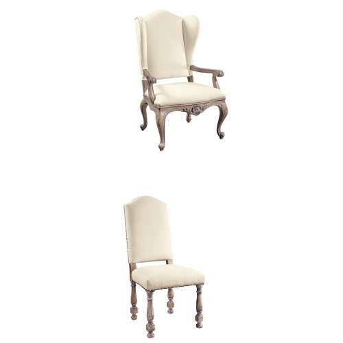 6 Arm Chair Set - 7