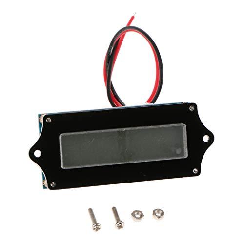 F Fityle DC 9-90V Current Voltage Tester, Digital Multimeter; Volt amperage meter, Dual LED Display, Volt Amp Meter Gauge Panel for Car Automotive: