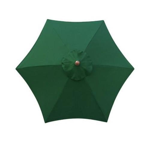 Sunline Umbrella Market Hardwood Green
