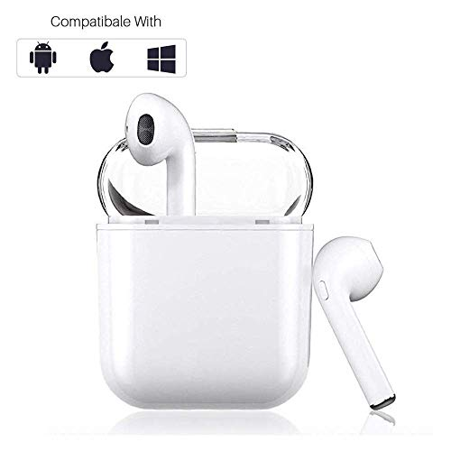 Bluetooth Headphones Wireless Sports Earbuds Stereo Earphones SweatProof Headsets Clear Audio Earpieces for iPhone XMAS/XR/X/8/7/6/6s Plus Android S7 S8 S9 S10 Plus Samsung Galaxy