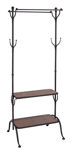 Deco 79 Metal Wood Clothes Rack, 69 by 25-Inch by Deco 79